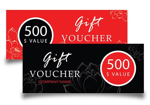 voucher design coupon design gift voucher design malaysia